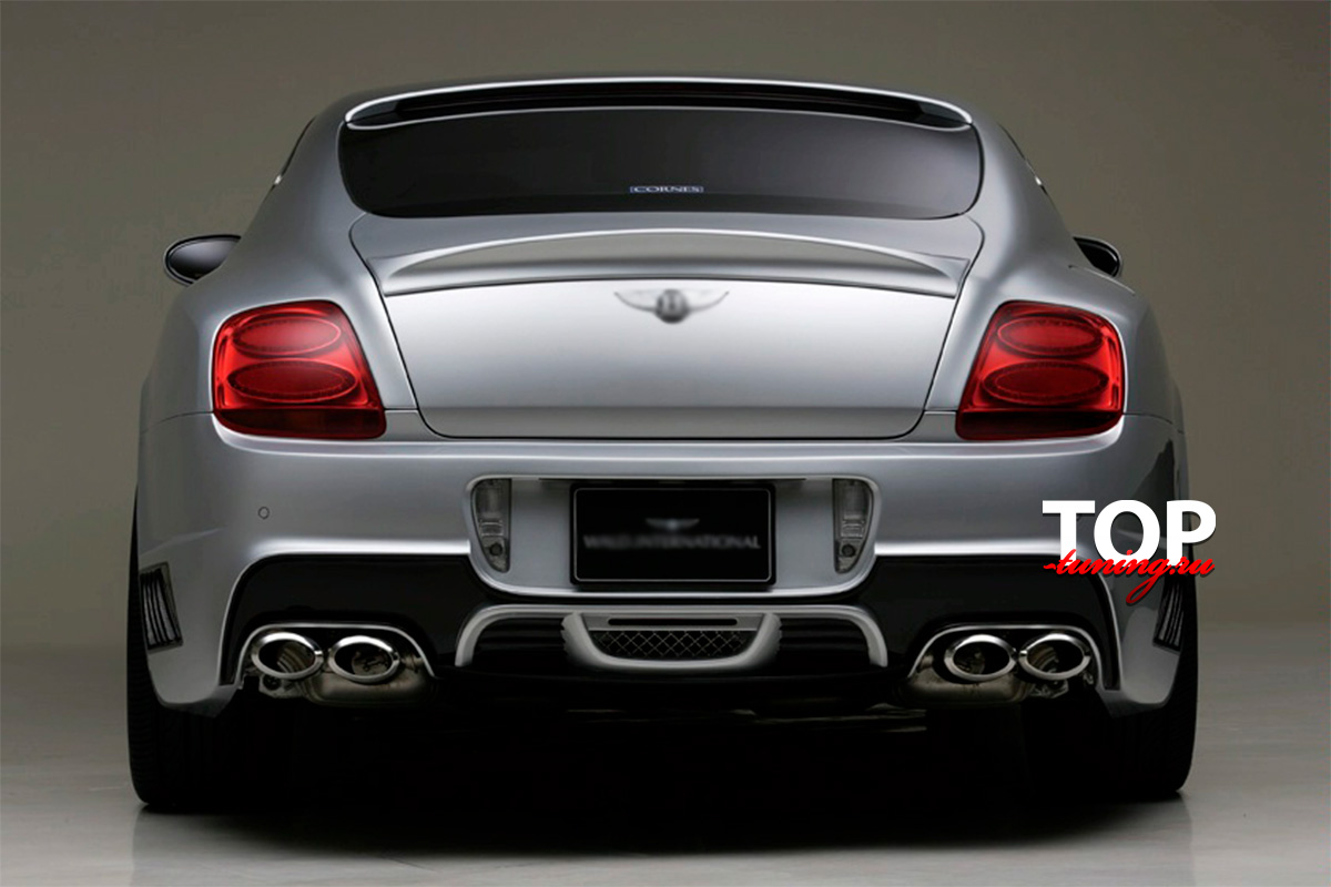 8060 Тюнинг - Спойлер WALD International на Bentley Continental GT 1