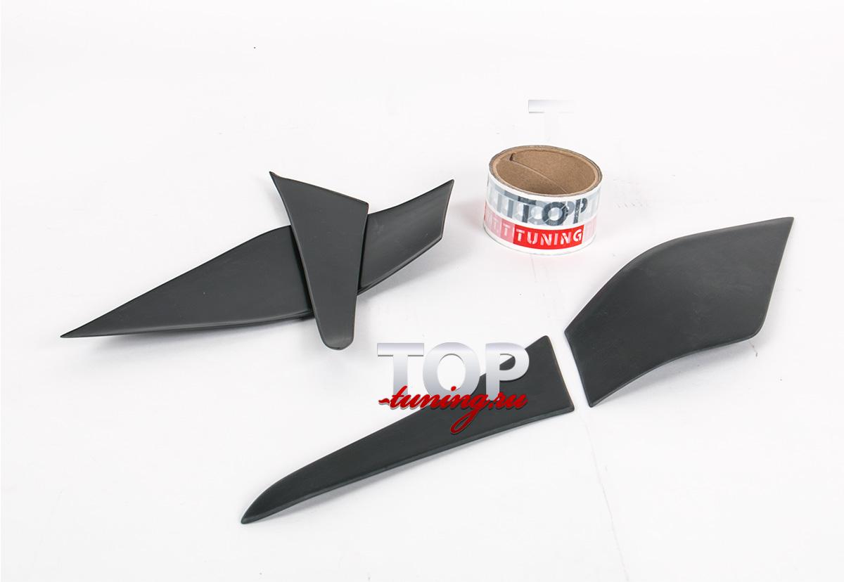 8064 Реснички на задние фонари X-Force на Kia Ceed 2