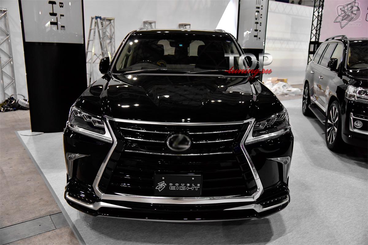 8078 Аэродинамический обвес Double Eight Half Type на Lexus LX570 UJR 200