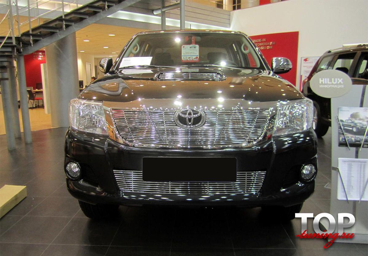 8090 Декоративные решетки DELUXE на Toyota Hilux