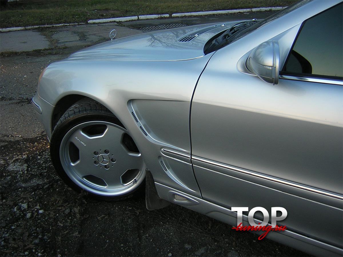 8094 Передние крылья Lorinser на Mercedes E-Class W210