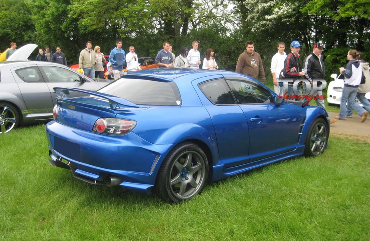 Спортивный, универсальный спойлер Gran Turismo.