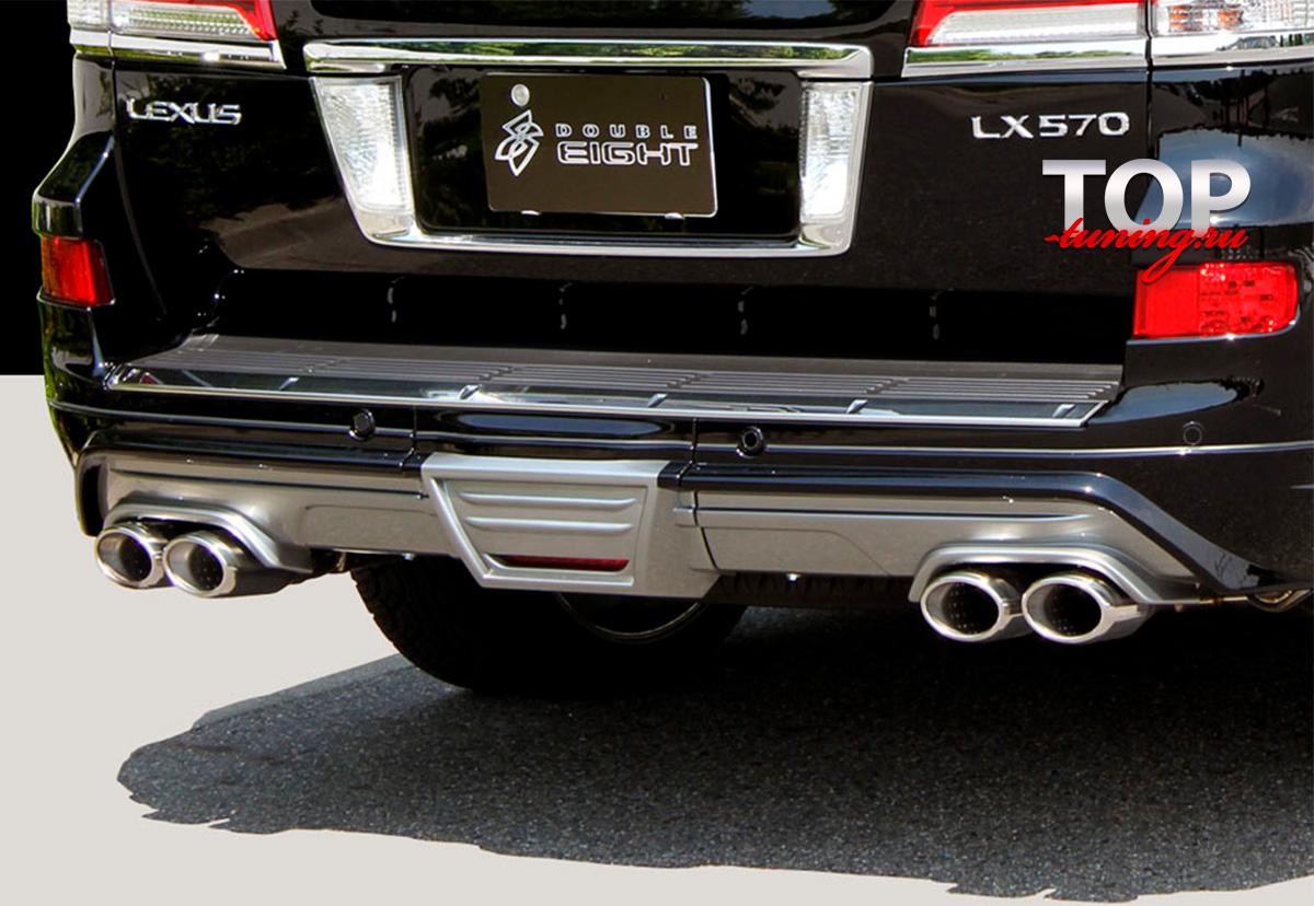 8128 Накладка на задний бампер Double Eight на Lexus LX570 UJR 200