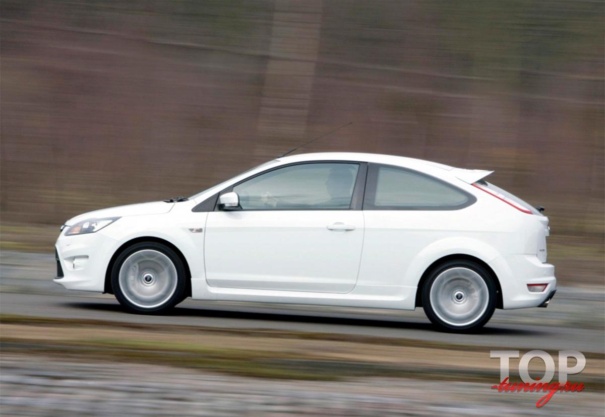8132 Пороги ST ABS (HB) на Ford Focus 2