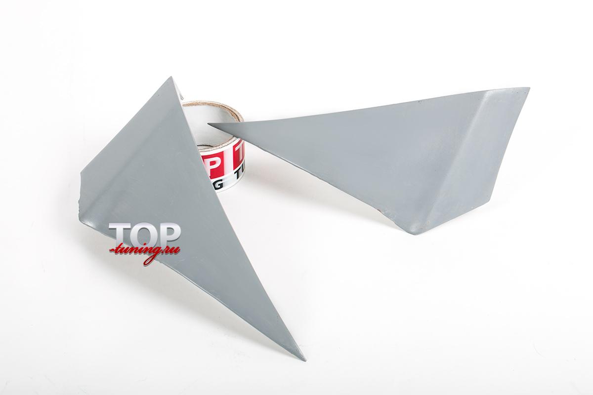Переходники переднего бампера (на крыло). Технологически необходимый элемент.