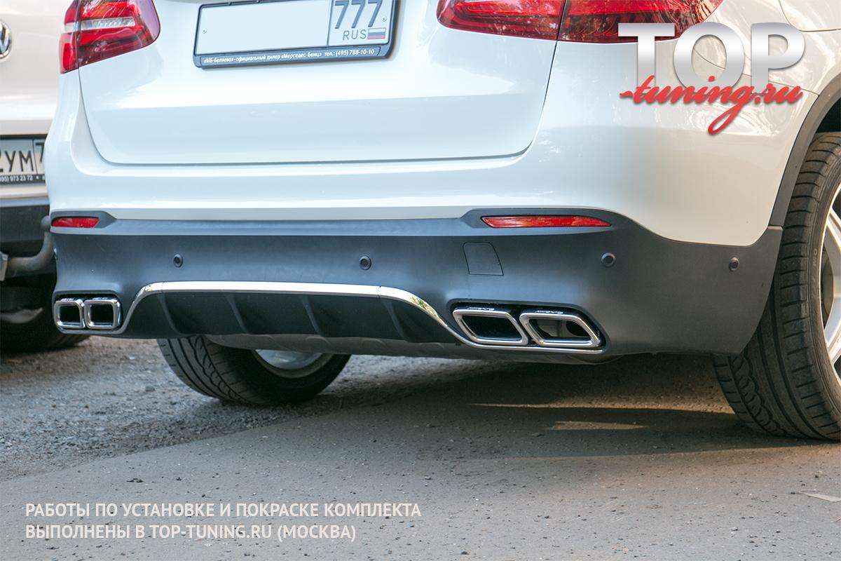 8171 Аэродинамический обвес Vision AMG63 Style на Mercedes GLC X253