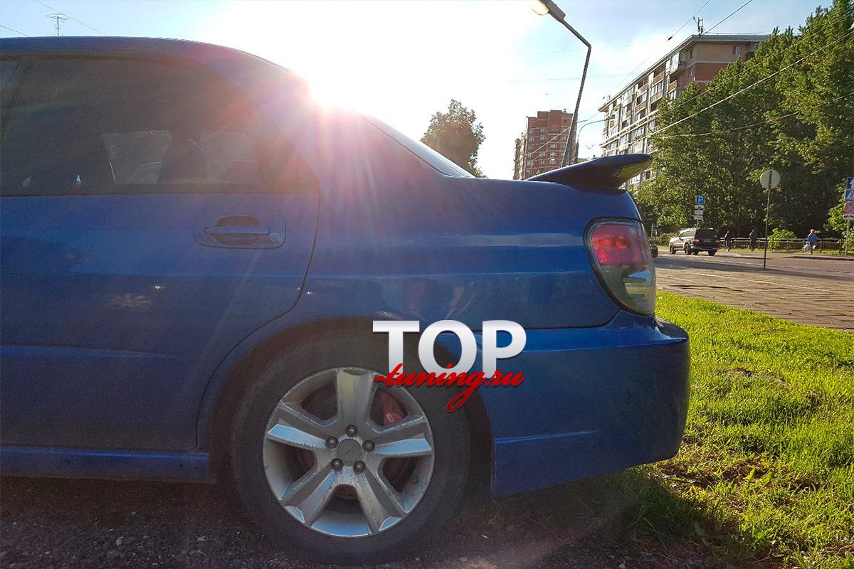 8173 Спойлер на крышку багажника WRX на Subaru Impreza 2