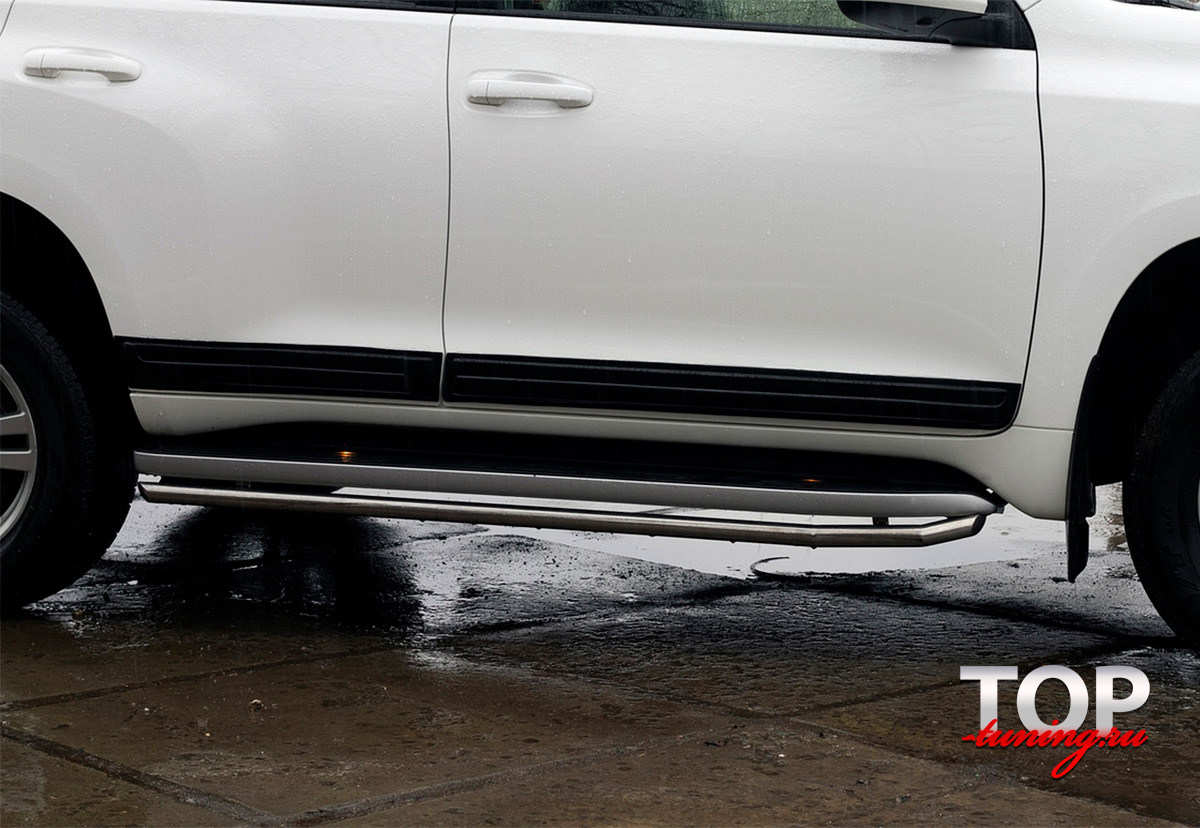 8182 Молдинги на двери на Toyota Land Cruiser Prado 150