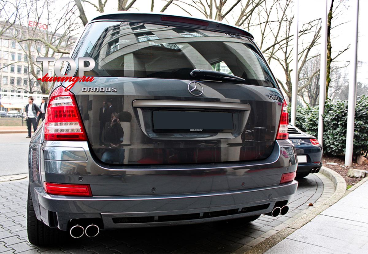 8185 Задний бампер Brabus Widestar на Mercedes GL-Class X164