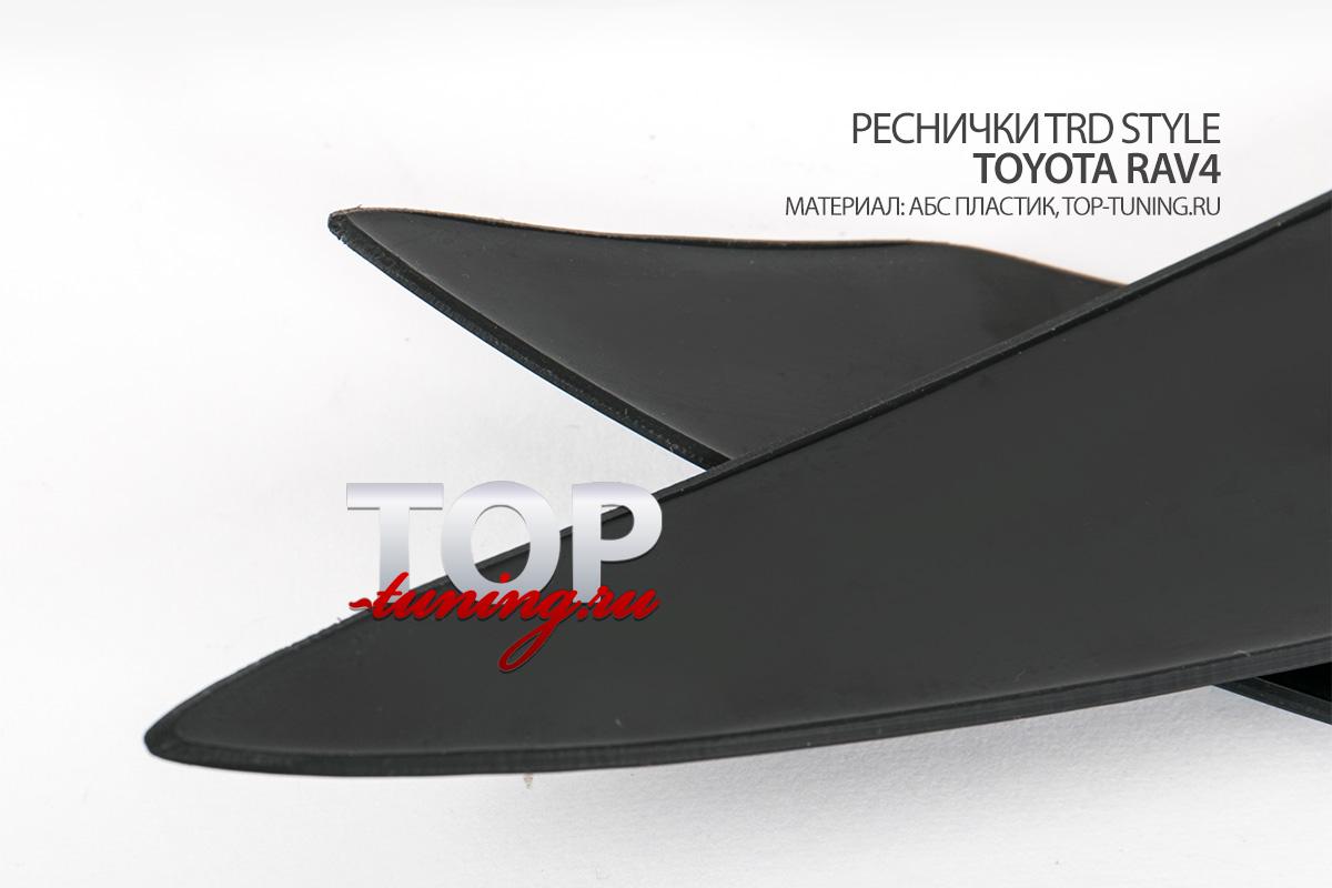 8187 Реснички на фары TRD Style на Toyota RAV4 3