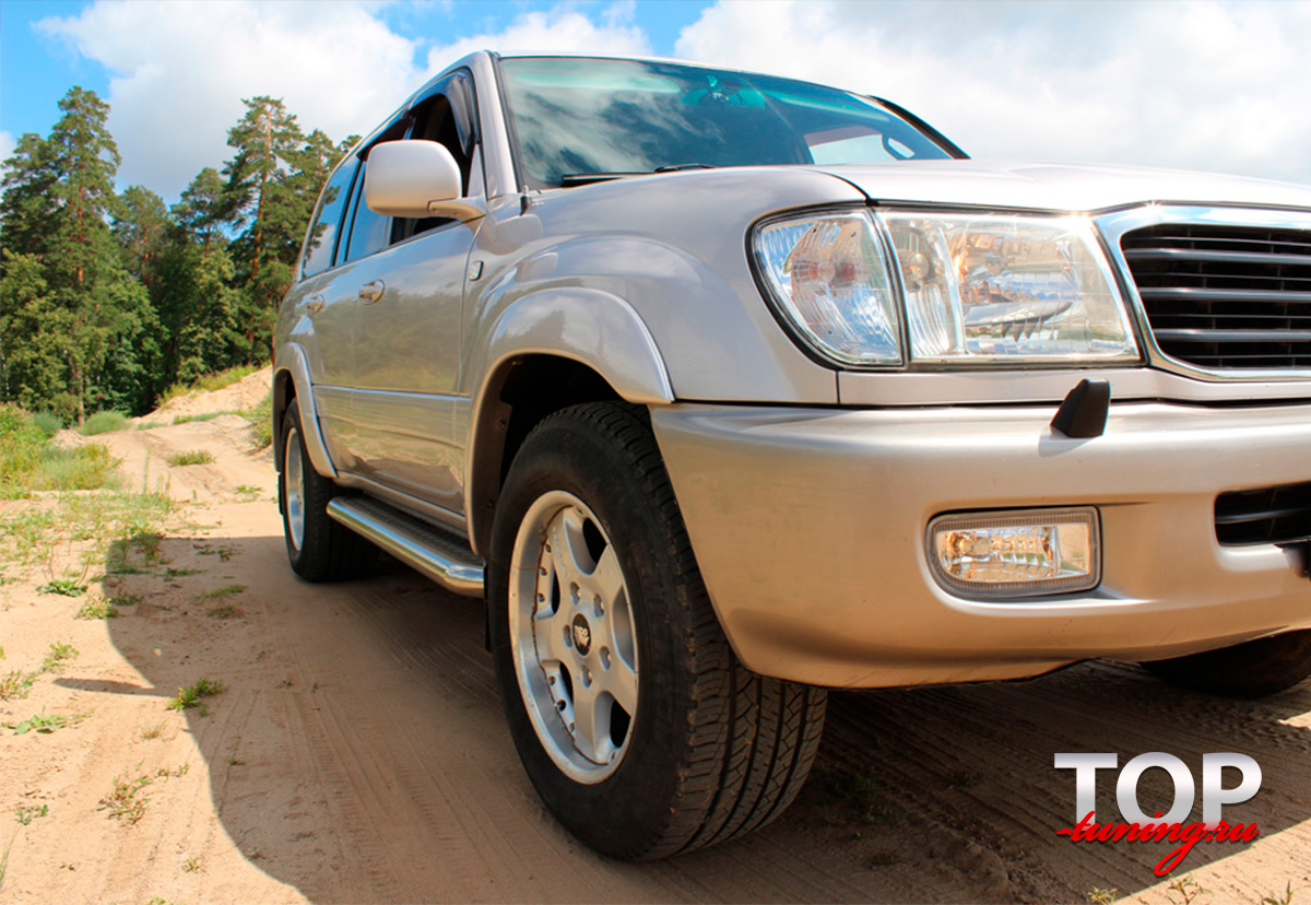 8193 Расширители арок TRD Style на Toyota Land Cruiser 100
