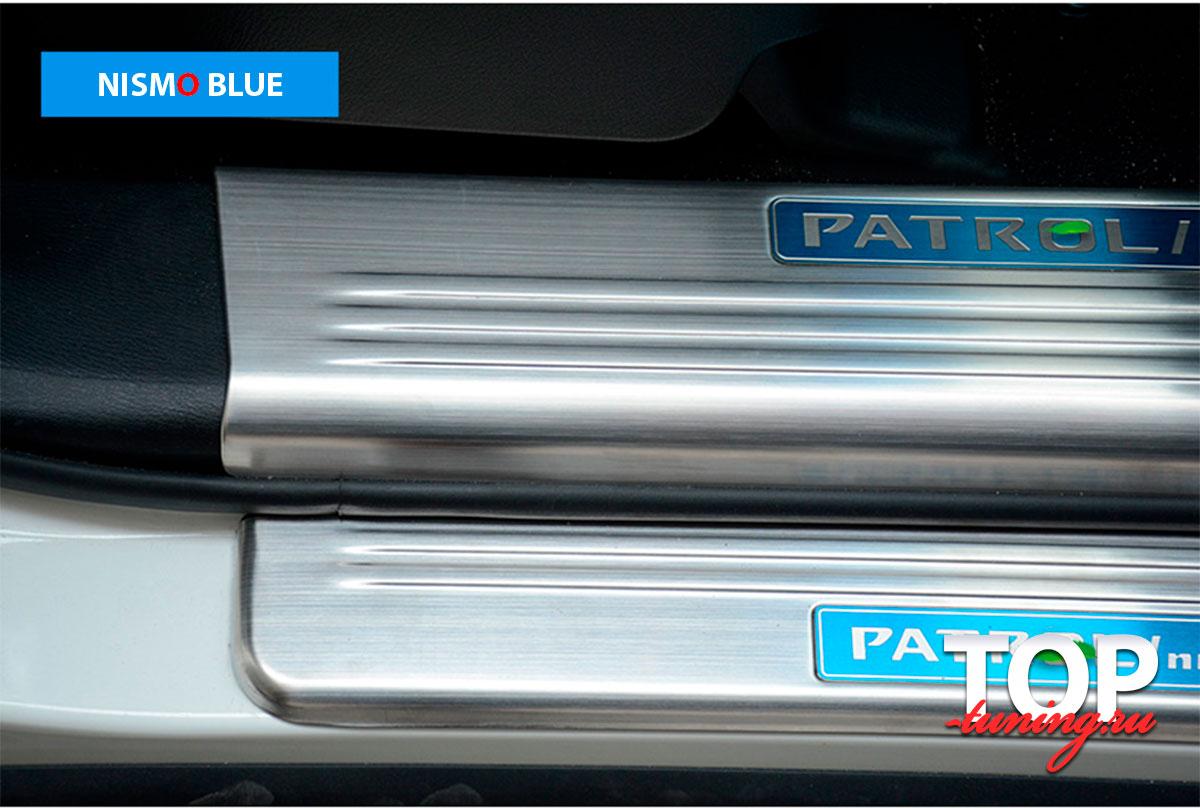 Patrol 8209 Защитные пластины порогов Epic на Nissan Patrol Y62
