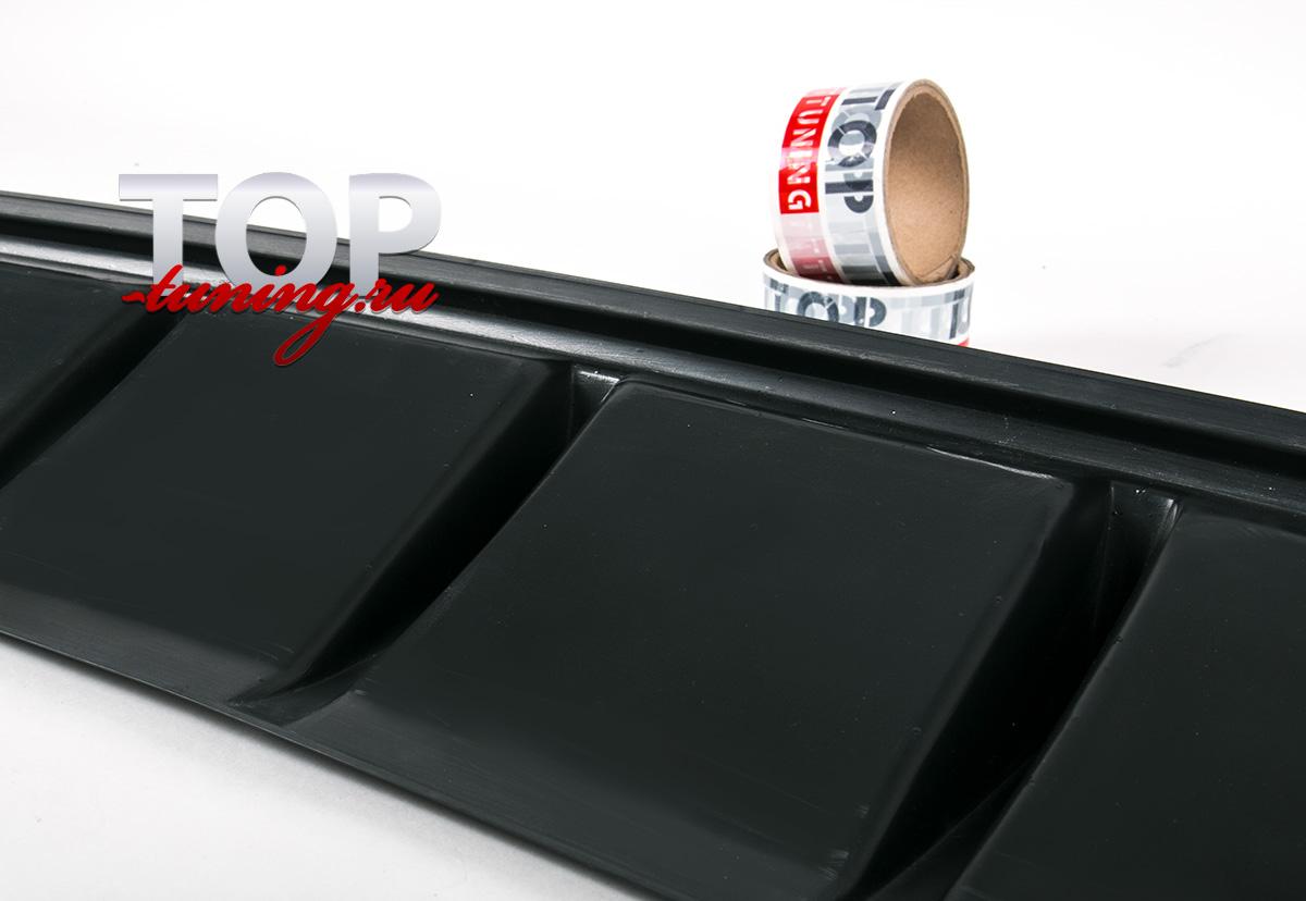 8210 Диффузор заднего бампера X-Force на Kia Ceed 2