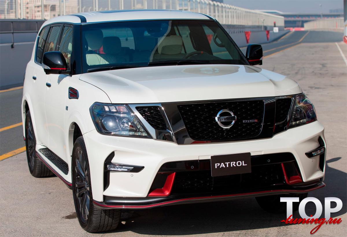 8215 Аэродинамический обвес Nismo на Nissan Patrol Y62
