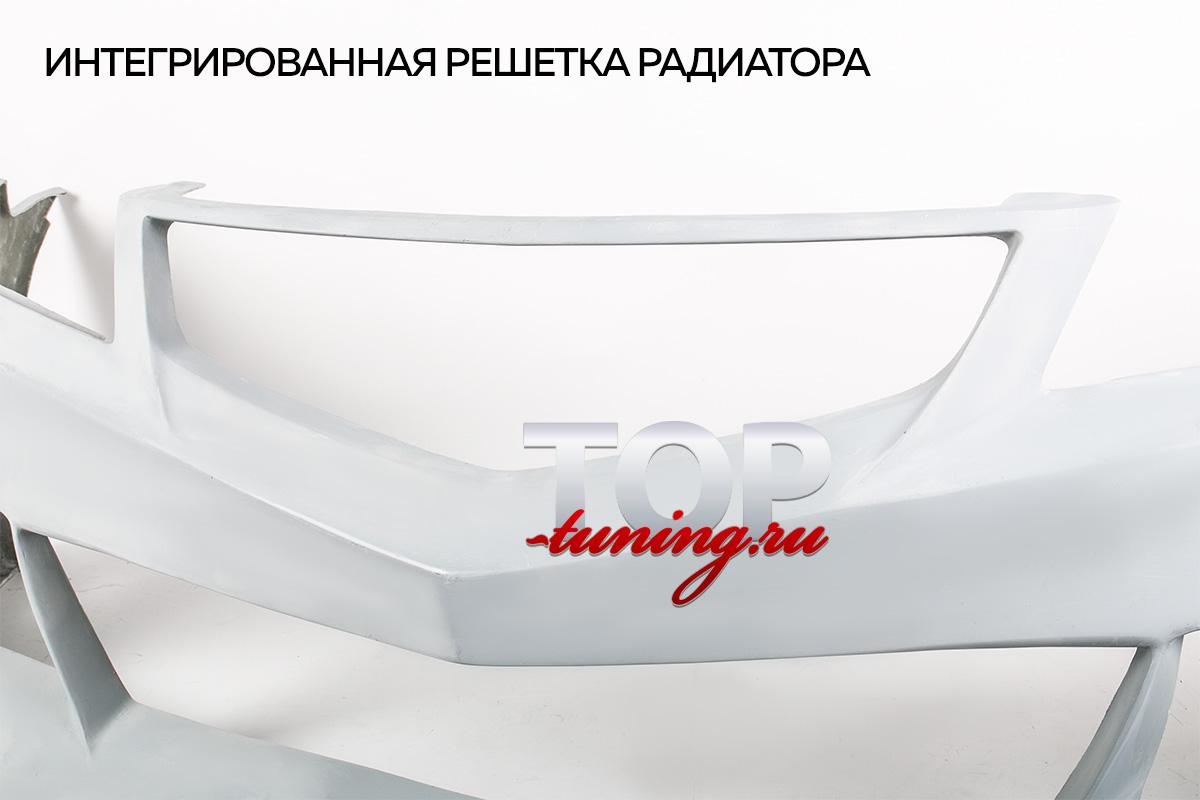 ПЕРЕДНИЙ БАМПЕР КИТАНО - ТЮНИНГ ХОНДА АККОРД 7 (РЕСТАЙЛИНГ, ДОРЕСТАЙЛИНГ 2002 / 2008)