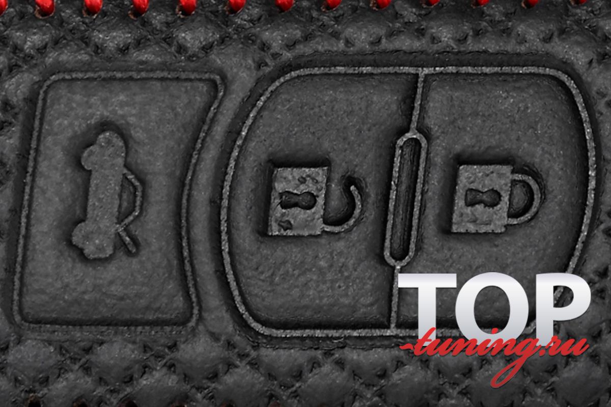 8291 Кожаный чехол для смарт ключа Luxury Line №2 на Mazda