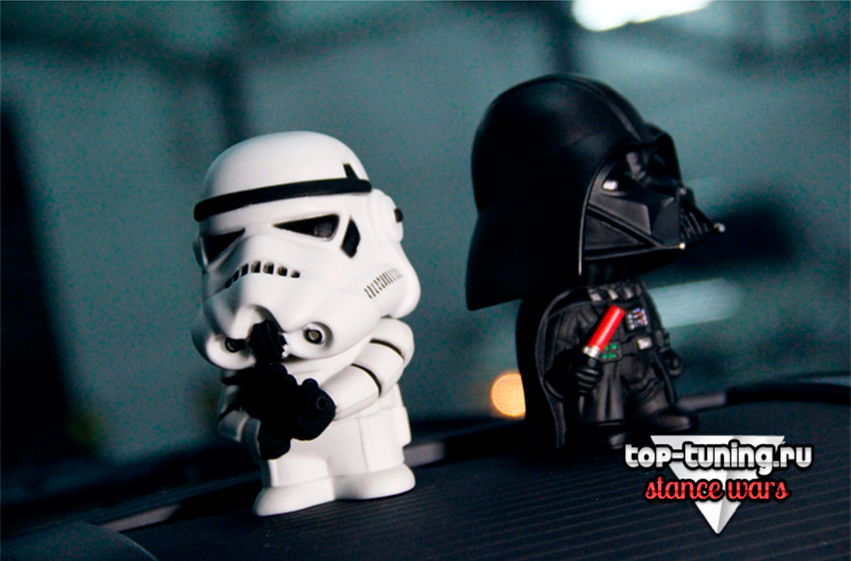 8340 Фигурки на переднюю панель Car Wars