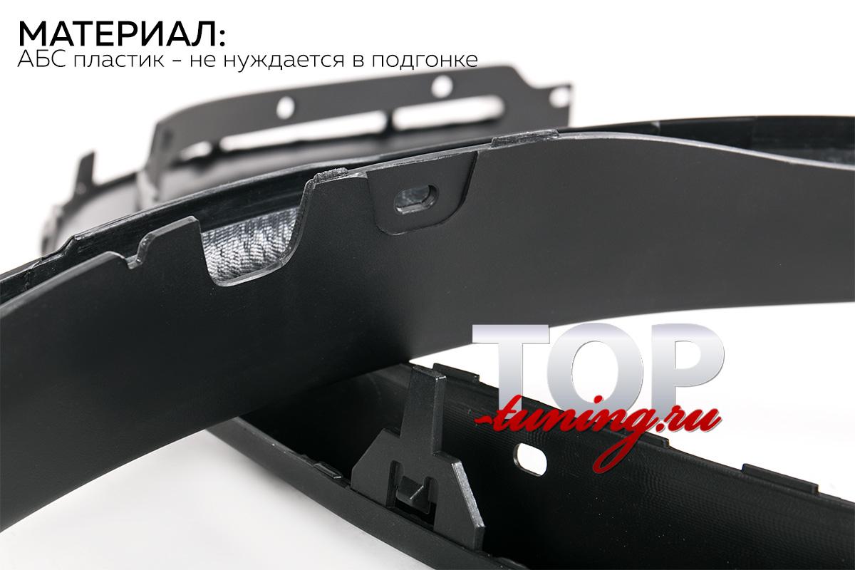 8342 Расширители арок M style (ABS) на BMW X5 F15