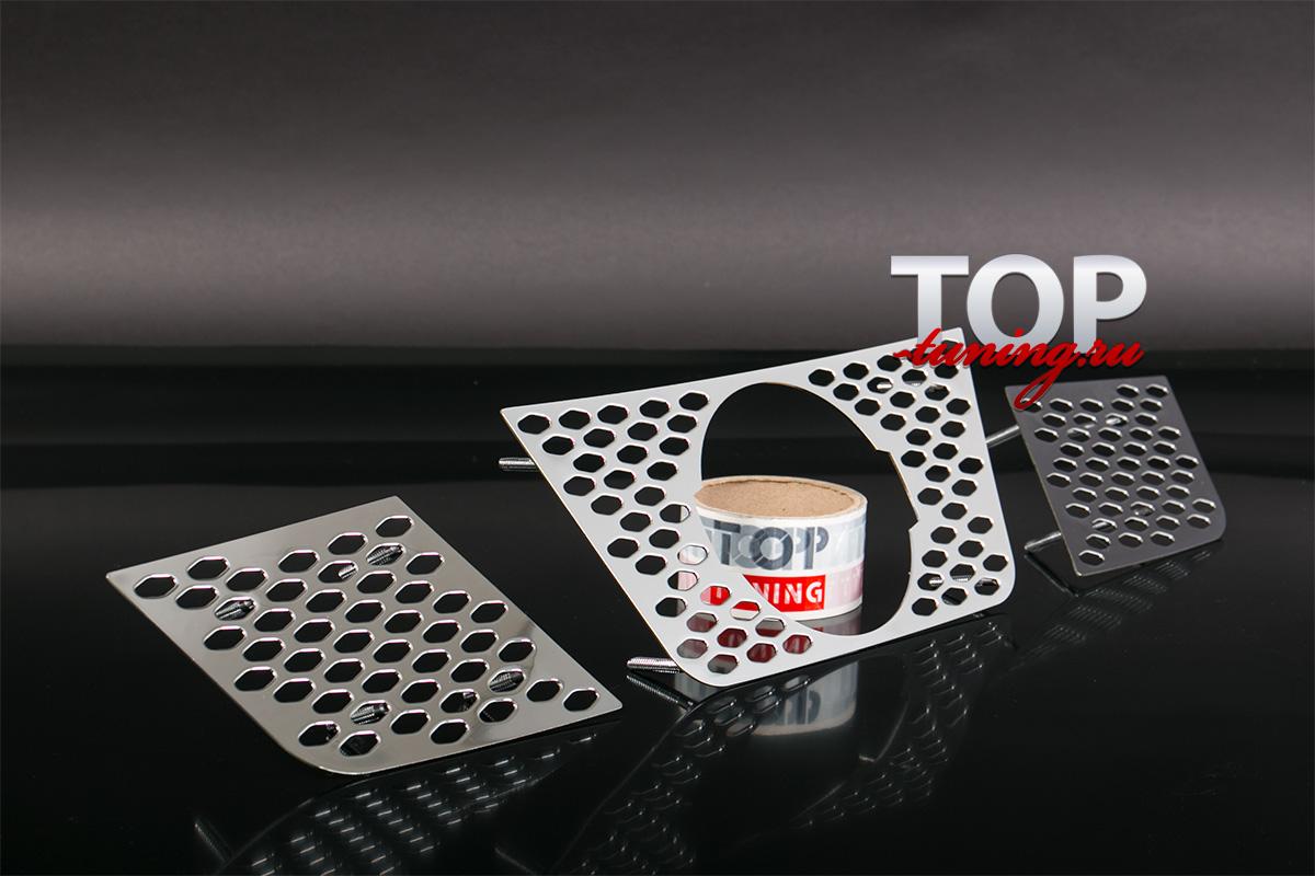 8354 Решетки в бампер Premium на Nissan X-Trail T31