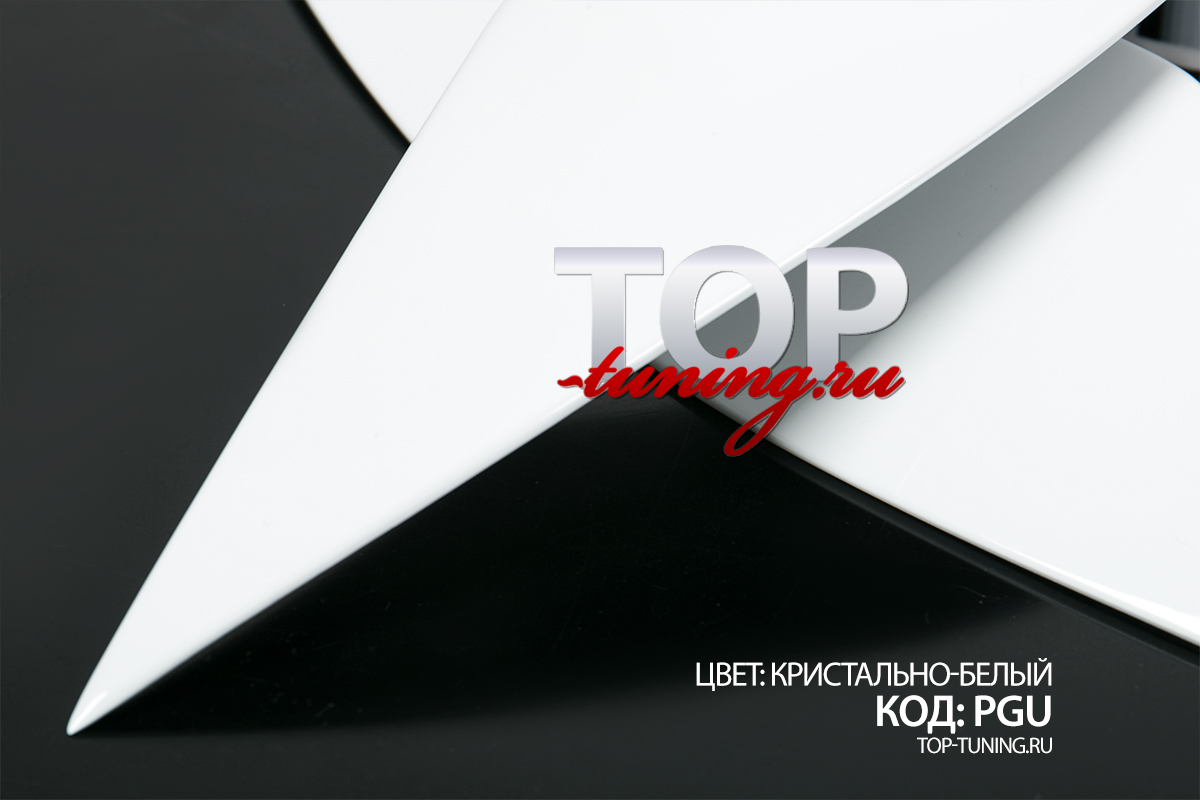 8370 Боковые накладки на переднюю оптику Element на Kia Rio 3
