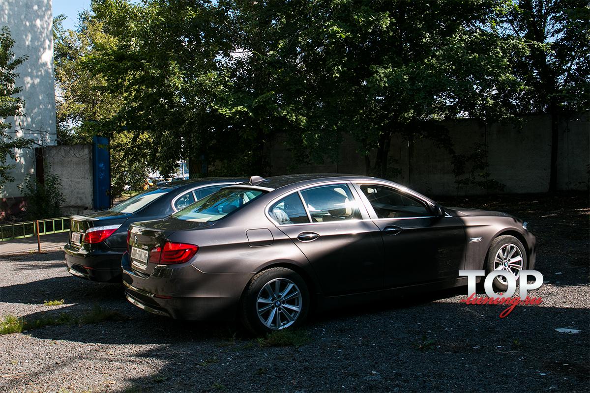 8399 Козырек на заднее стекло M5 Style на BMW 5 F10