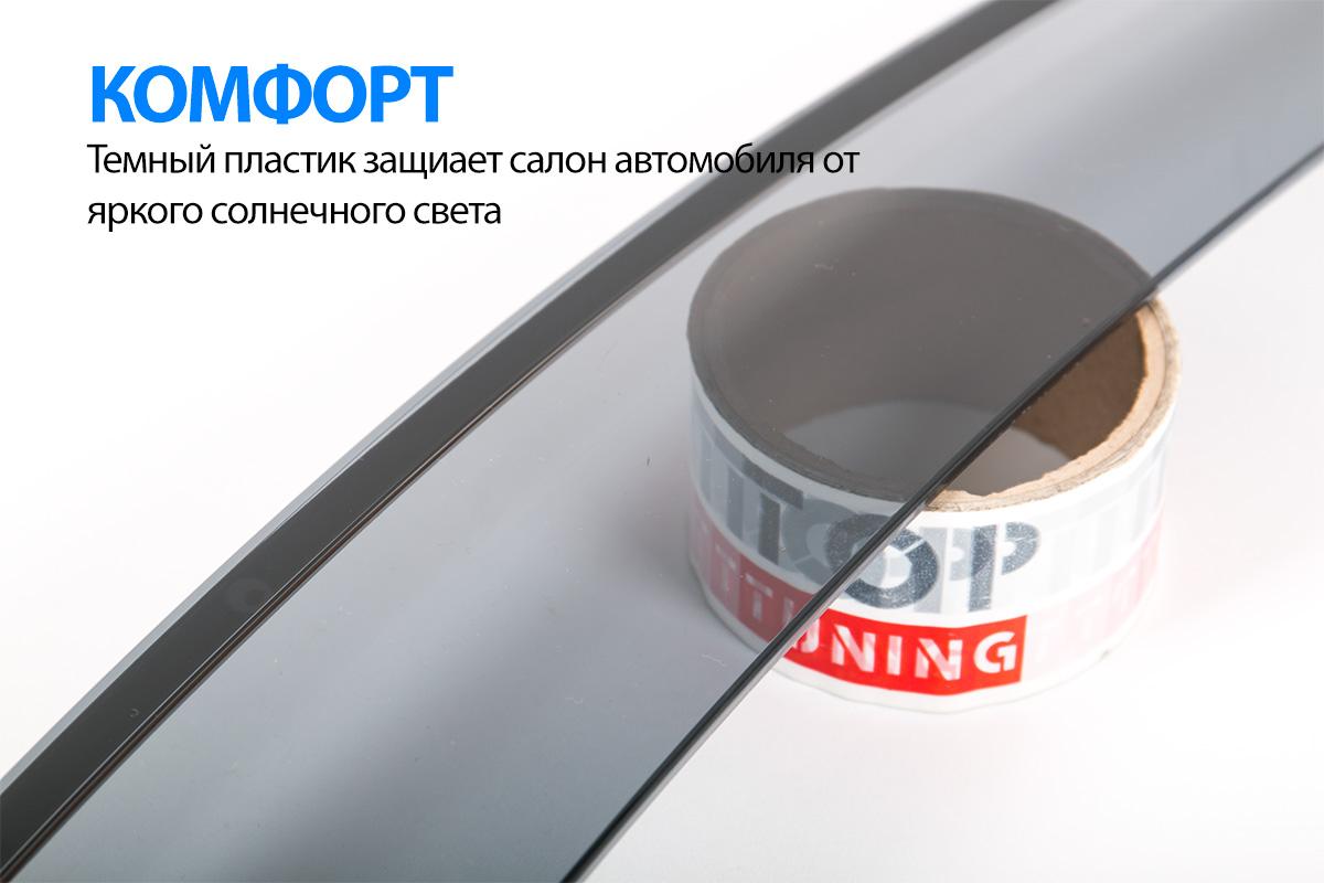 8445 Дефлекторы на окна Well Visors Lite на Hyundai ix35
