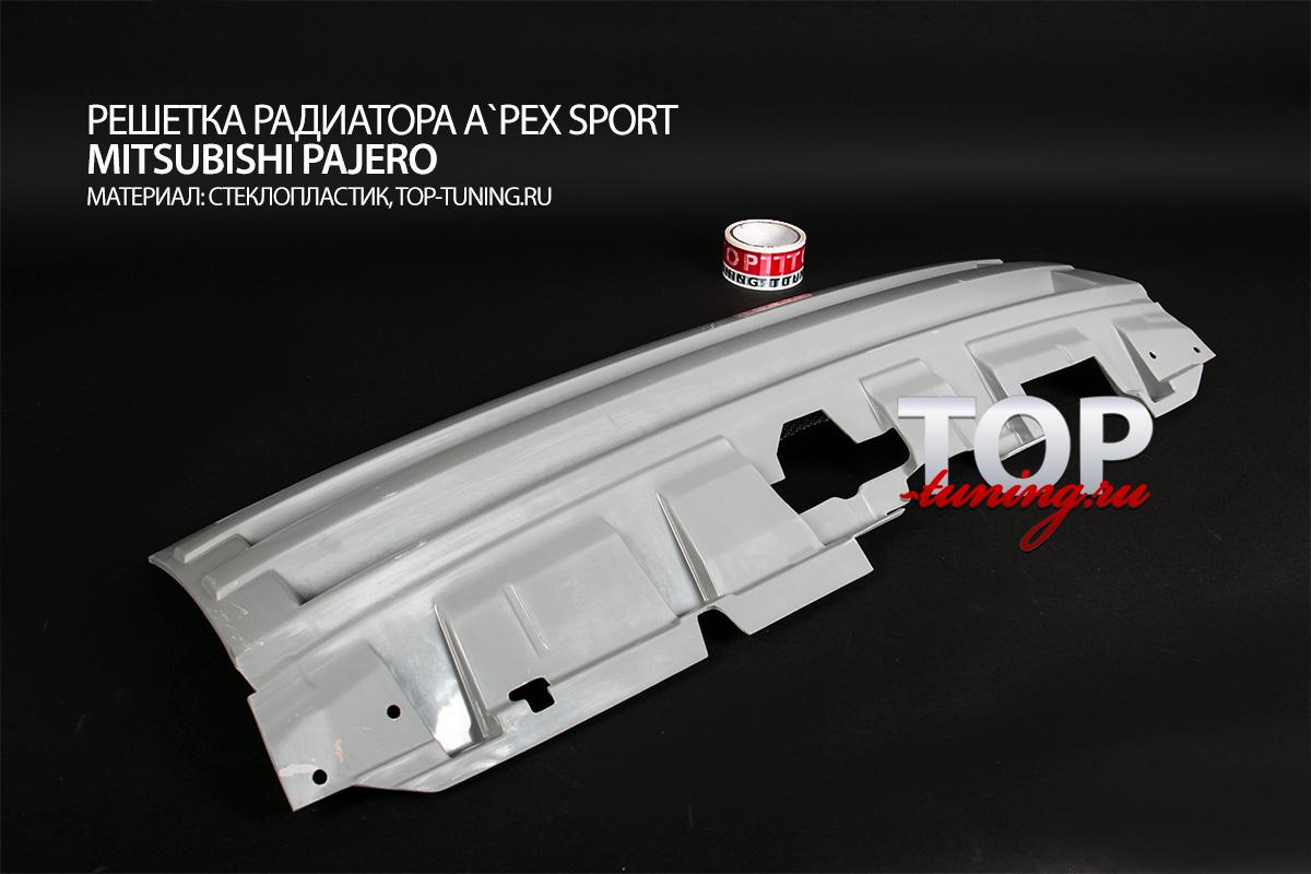 8487 Решетка радиатора A`PEX Sport на Mitsubishi Pajero