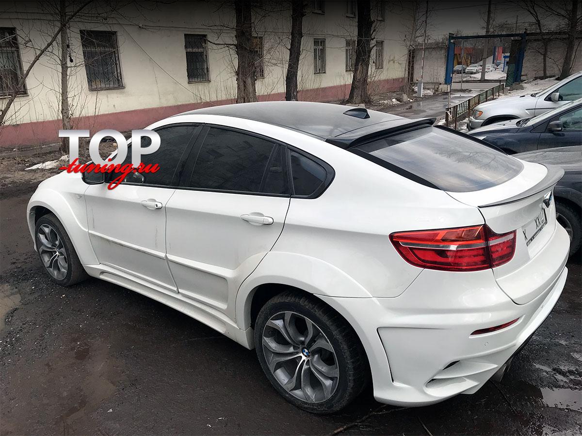 8490 Лип-спойлер с вырезом PERFORMANCE LINE на BMW X6 E71