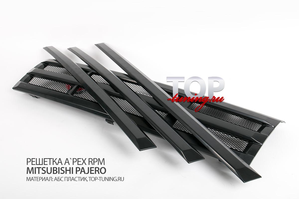 8511 Решетка радиатора A`PEX RPM на Mitsubishi Pajero