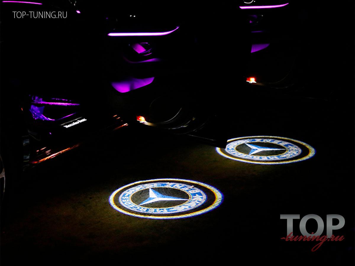 Мерседес 8538 Проектор логотипа в дверь Laser HD на Mercedes