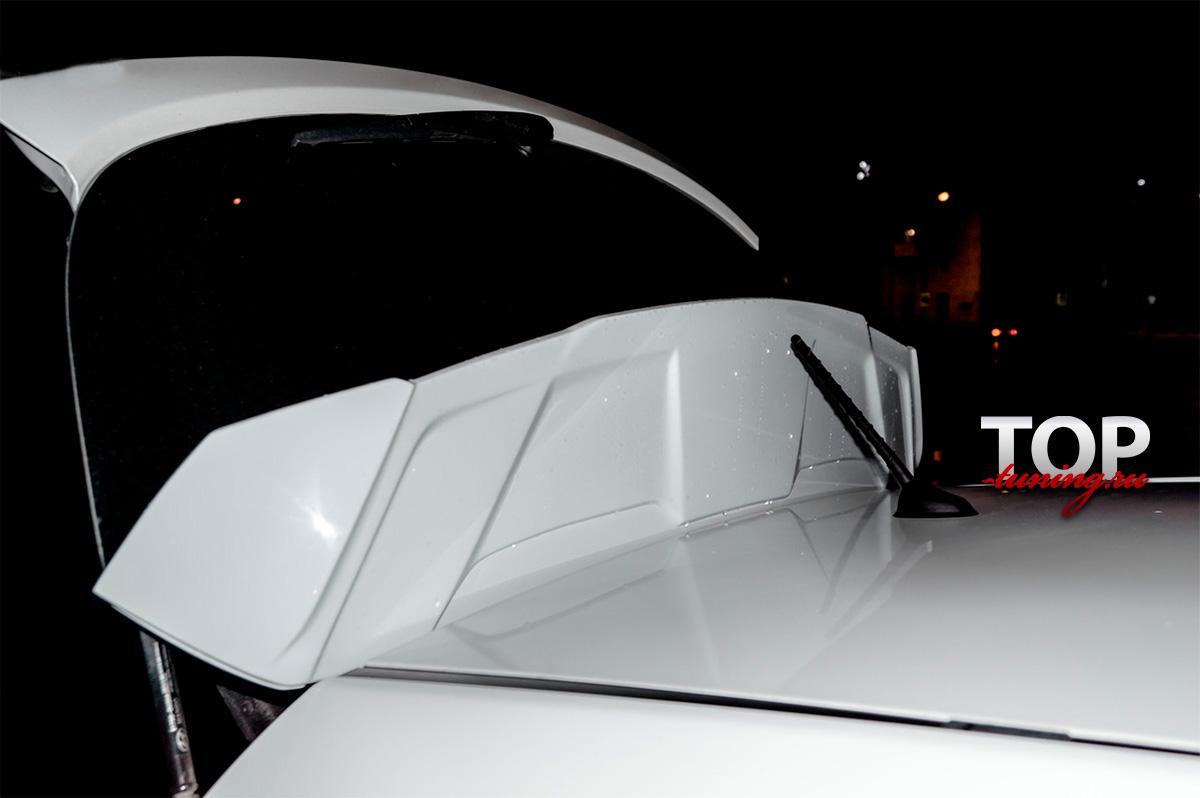 8598 Спойлер на крышку багажника Zeus на Hyundai Solaris
