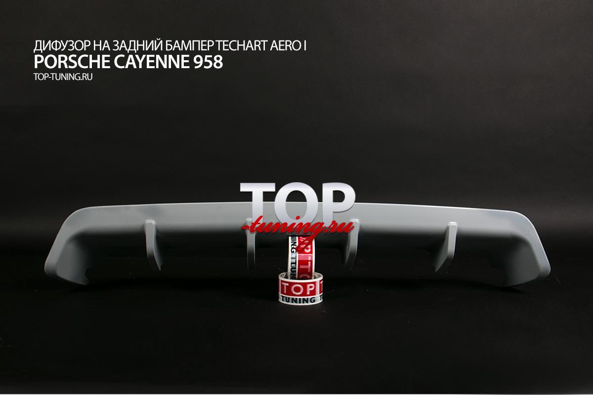 8604 Комплект обвеса T-ART Aero I на Porsche Cayenne 958