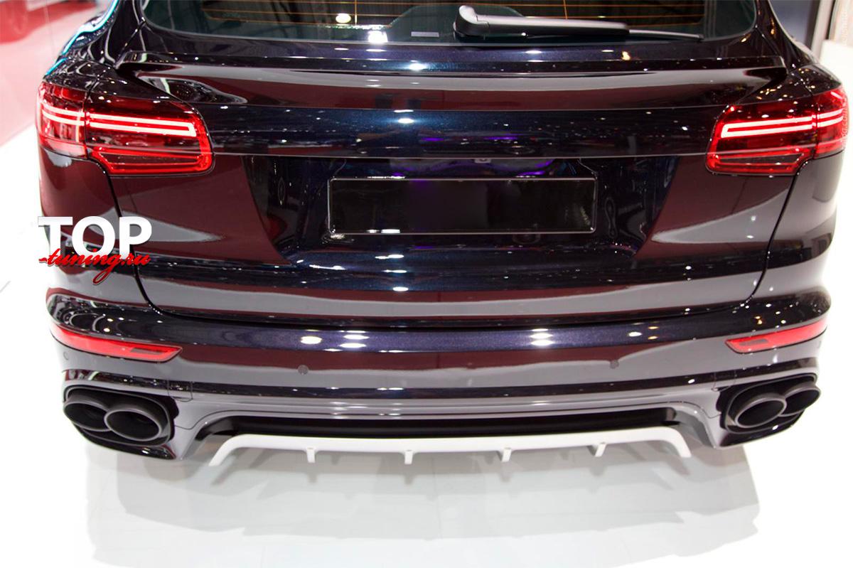 8607 Нижний спойлер T-ART Aero I на Porsche Cayenne 958