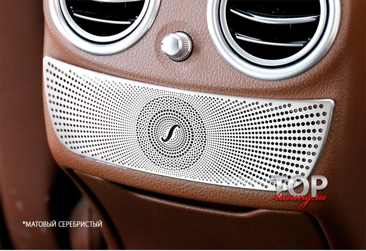 8611 Накладка на пассажирский блок климата Burmester на Mercedes E-Class W213