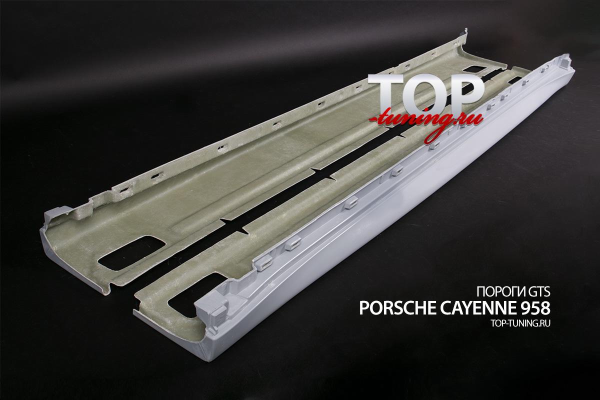 8614 Комплект порогов GTS на Porsche Cayenne 958