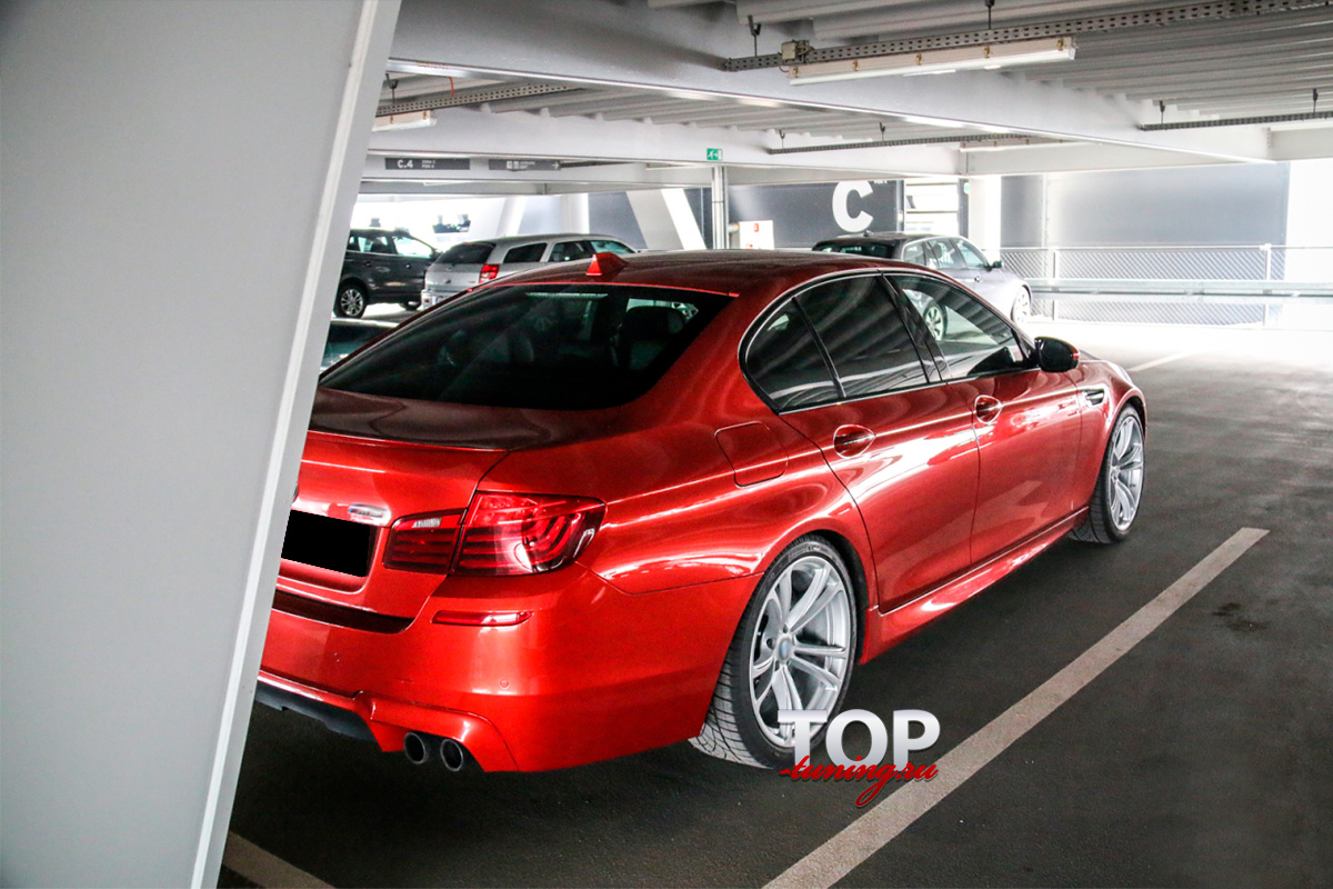 8632 Аэродинамический обвес M5 на BMW 5 F10
