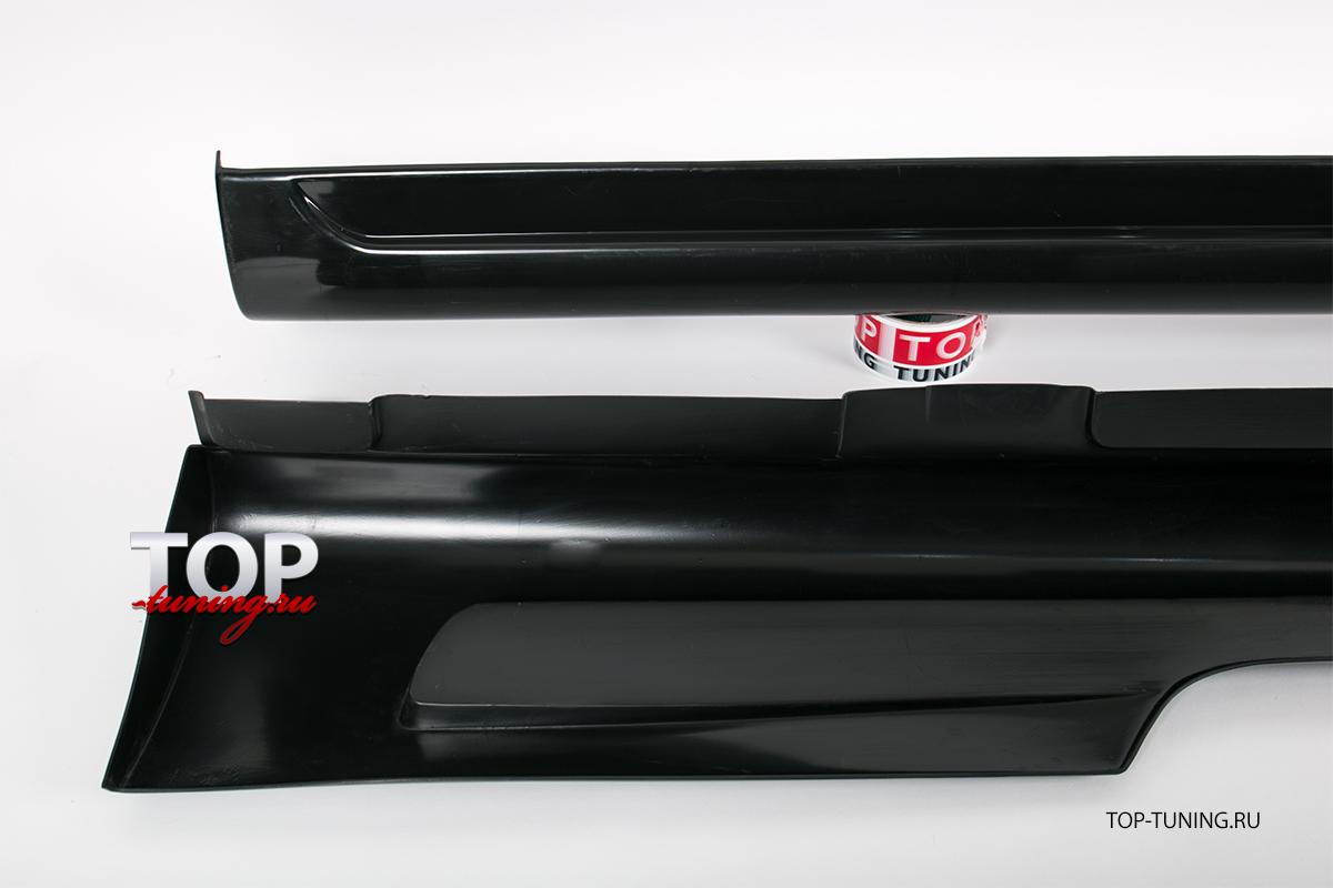 8646 Накладки на пороги Sport на Ford Focus 2