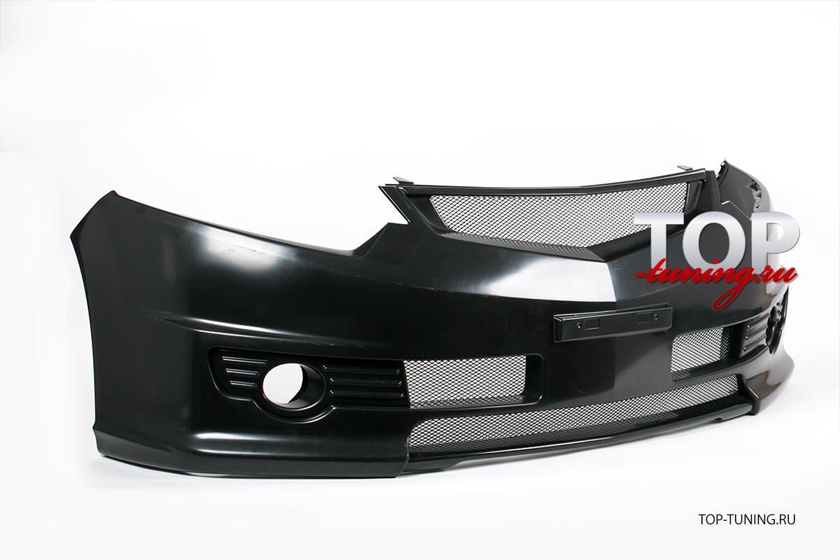 8651 Передний бампер Mugen Style на Honda Accord 8