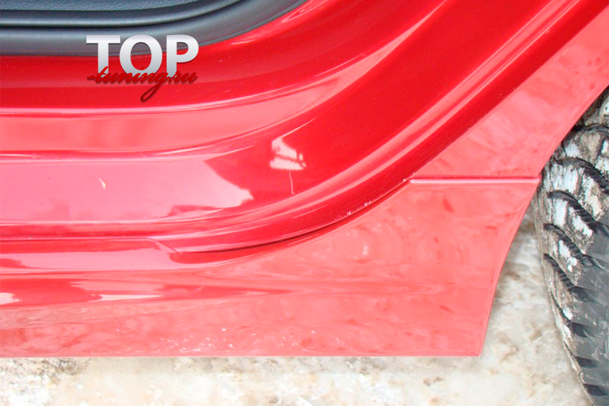 8690 Пороги R-Line на VW Polo 5