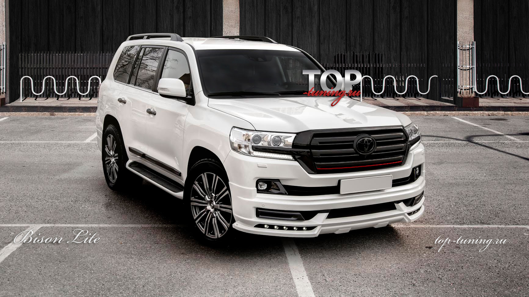8707 Тюнинг обвес WALD Bison LITE на Toyota Land Cruiser 200