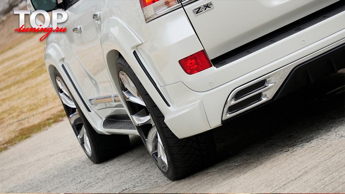 8709 Диффузор заднего бампера WALD LITE на Toyota Land Cruiser 200