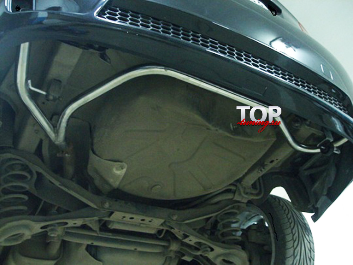 8715 Разводка под двойной выхлоп на Ford Focus 2