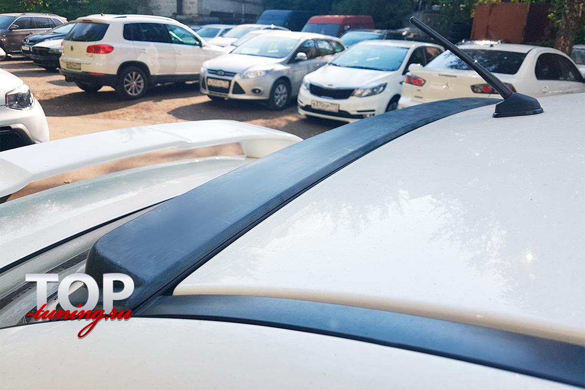 8722 Козырек на заднее стекло Ralliart на Mitsubishi Lancer 10 (X)