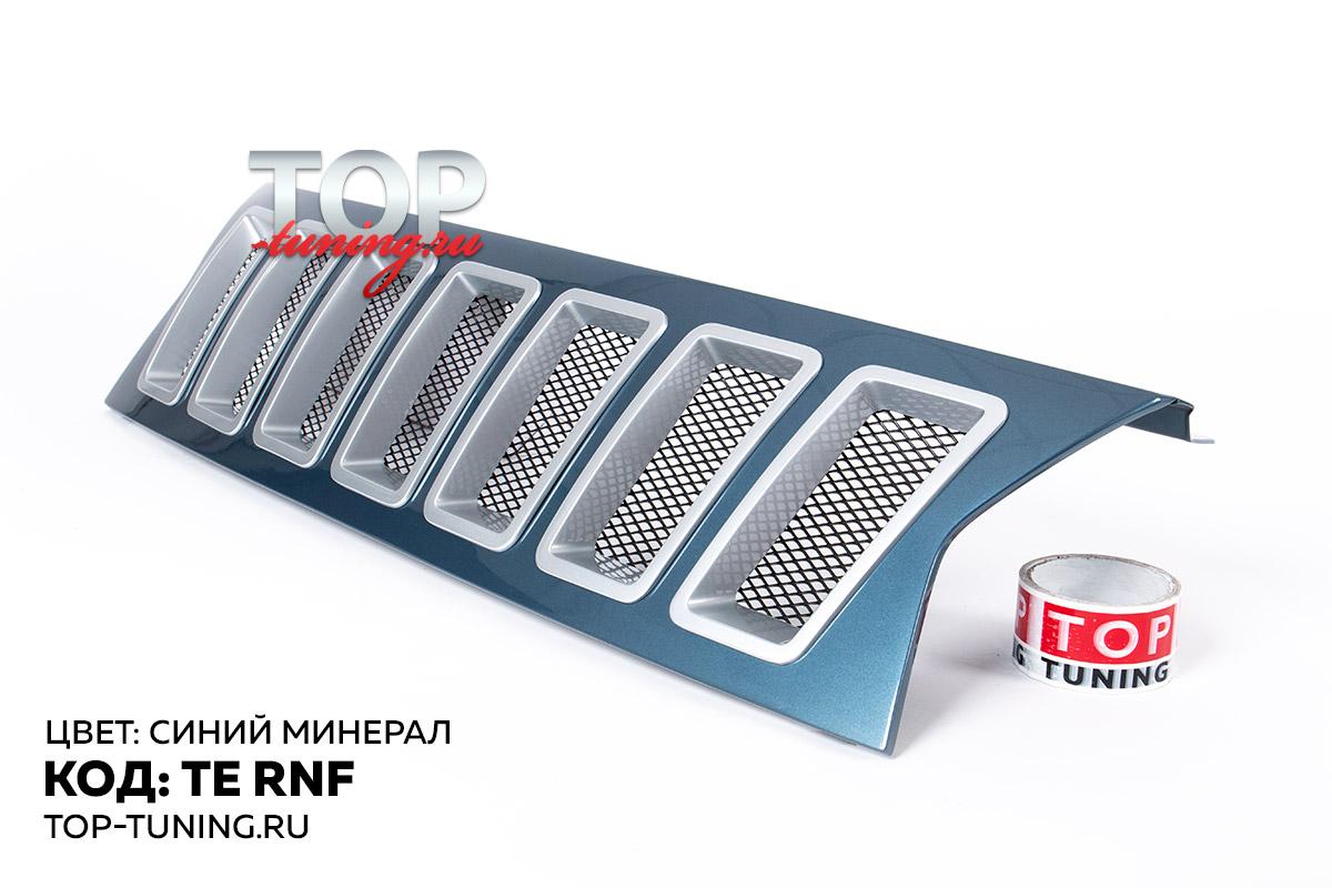 8731 Решетка радиатора Cherokee Style на Renault Duster 1