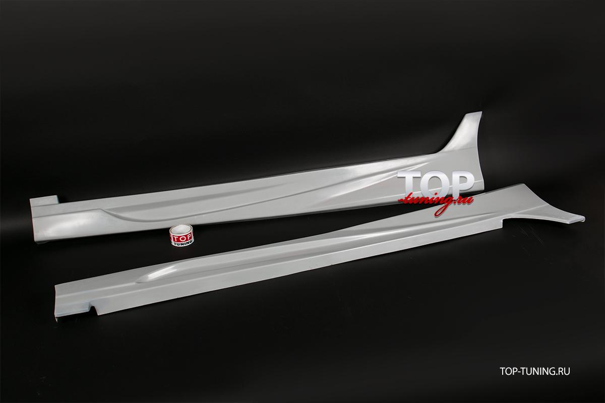 8746 Накладки на пороги NEFD Style на Hyundai ix35