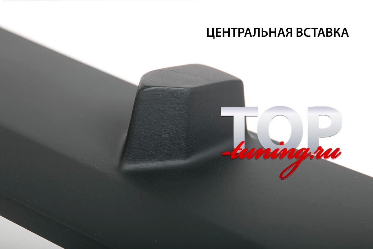 ТРЕХСОСТАВНАЯ НАКЛАДКА НА ПЕРЕДНИЙ БАМПЕР - ОБВЕС EVOLUTION ТЮНИНГ ДЛЯ КИА РИО 3 (РЕСТАЙЛИНГ, СЕДАН, ХЕТЧБЭК - 2015+)