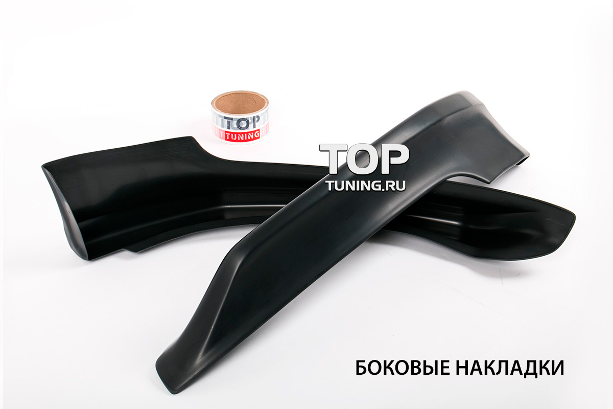 8747 Накладка на передний бампер Evolution (Рестайлинг) на Kia Rio 3