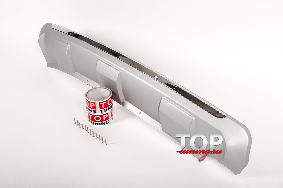 8761 Протектор заднего бампера Oris на Kia Sportage 3 (III)