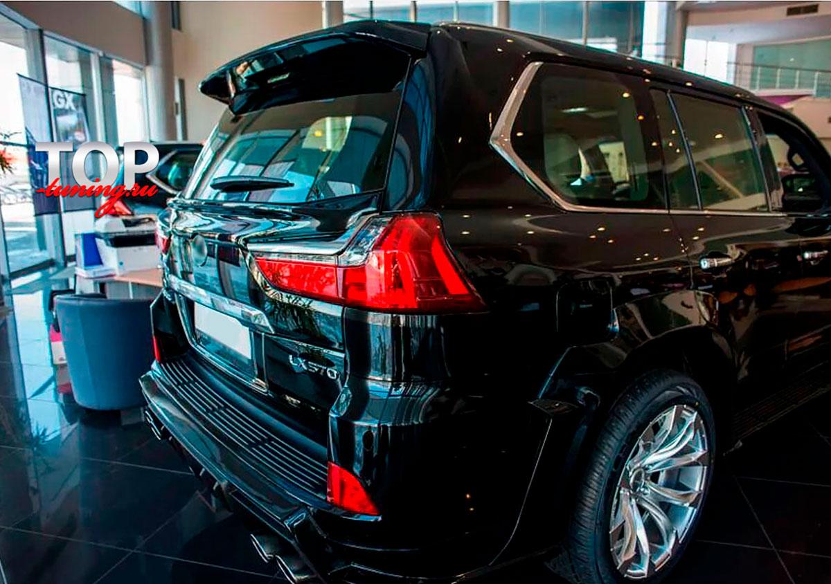 8766 Спойлер под стекло Artisan Black Label на Lexus LX570 UJR 200