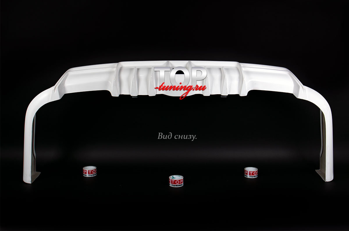 8767 Диффузор заднего бампера Artisan Black Label на Lexus LX570 UJR 200